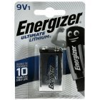 Energizer Ultimate Lithium Batterie FR22 6LR61 MN1604 X522  9V-Block Blister